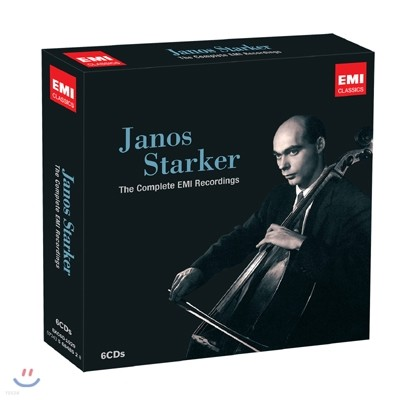 야노스 슈타커 EMI 녹음 전집 (Janos Starker The Complete EMI Recordings)