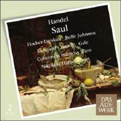 헨델 : 사울 (Handel : Saul) - Nikolaus Harnoncourt