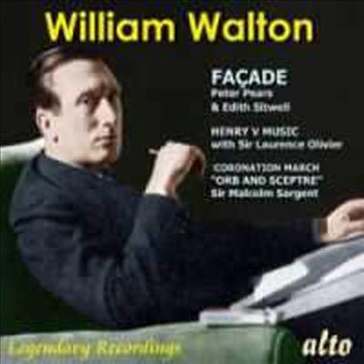 윌리언 월톤 : 화케이드, 헨리 5세의 음악과 정경 (William Walton : Facade) - Malcolm Sargent