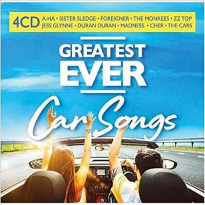 Various Artists - Greatest Ever Car Songs (4CD)