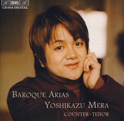 Yoshikazu Mera  Baroque Arias