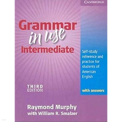 Grammar in Use Intermediate (Paperback, 3rd Edition, with Answers)