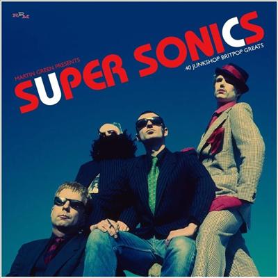 Various Artists - Martin Green Presents Super Sonics - 40 Junkshop Britpop Greats (Digipack)(2CD)