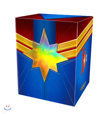캡틴 마블 One Click 박스 (6Disc 4K UHD 스틸북 한정판) : 블루레이