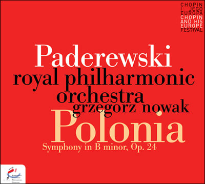 Grzegorz Nowak 파데레프스키: 교향곡 B단조 '폴로니아' (Paderewski: Symphony in B minor 'Polonia' op.24)