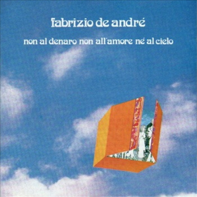 Fabrizio De Andre - Non Al Denaro Non All'amore Ne'al Cielo (Gatefold Sleeve)(Vinyl LP)