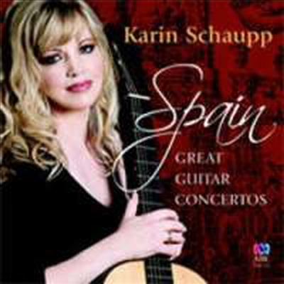 카린 샤우프의 명 기타 협주곡집 - 스페인 (Karin Schaupp plays Great Guitar Concertos)(CD) - Karin Schaupp