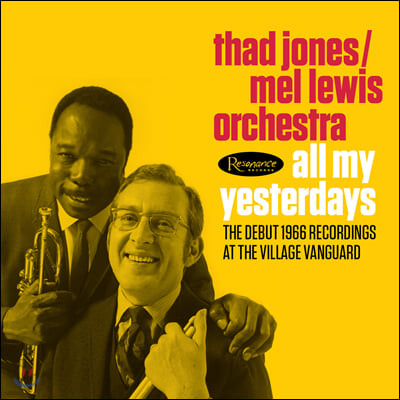 Thad Jones & Mel Lewis (테드 존스 & 멜 루이스) - All My Yesterdays