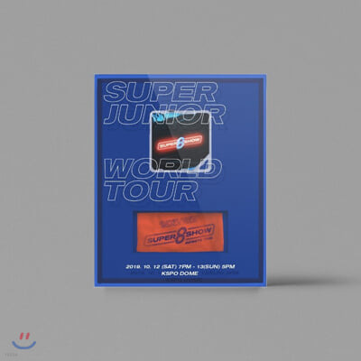 슈퍼주니어 (Super Junior) - SUPER JUNIOR WORLD TOUR - SUPER SHOW 8 : INFINITE TIME' [키트 비디오]