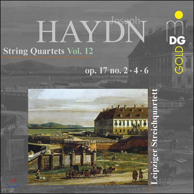 Leipzig String Quartet 하이든: 현악 사중주 12집 (Haydn: String Quartets Vol.12 - op.17 no.2, 4, 6)