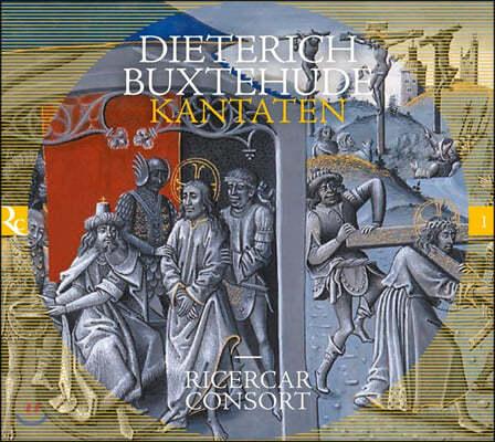 Ricercar Consort 북스테후데: 칸타타 작품집 (Buxtehude: Kantaten)