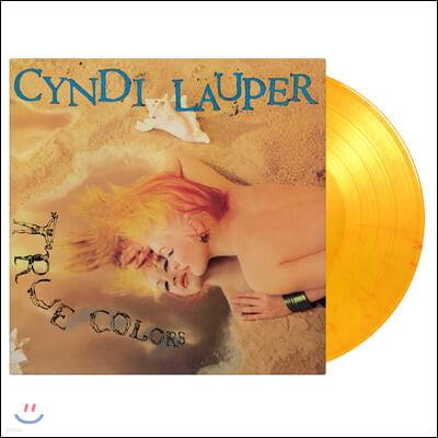 Cyndi Lauper (신디 로퍼) - 2집 True Colors [플레이밍 컬러 LP]