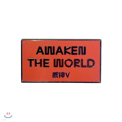 WayV - Awaken the world BADGE [A]