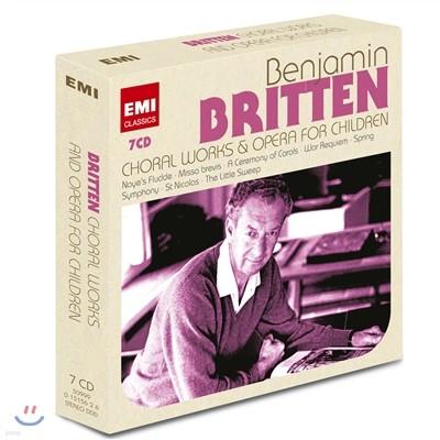 벤자민 브리튼: 합창 작품과 어린이 오페라 (Benjamin Britten: Choral Works & Operas for Children)