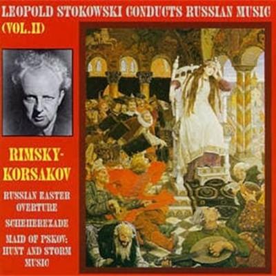 [미개봉] Leopold Stokowski / Rimsky-Korsakov: Russian Easter Festival~(수입/WHL010)