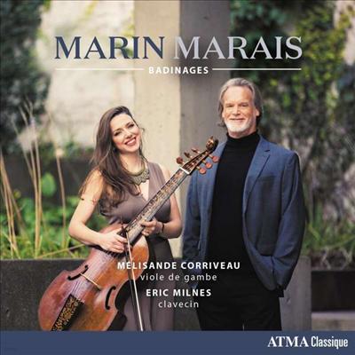 마랭 마레: 비올 작품집 (Marais: Works for Viola da gamba & Harpsichord)(CD) - Melisande Corriveau