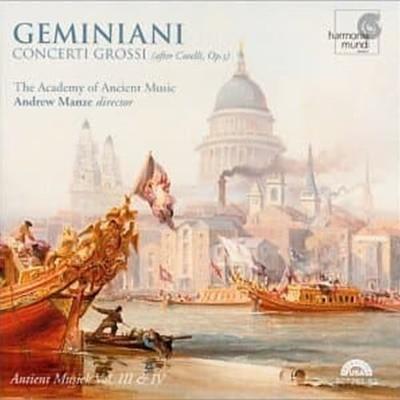Andrew Manze / 제미니아니 : 코렐리 작품 5번에 의한 합주 협주곡(2CD/수입/HMU90726162)