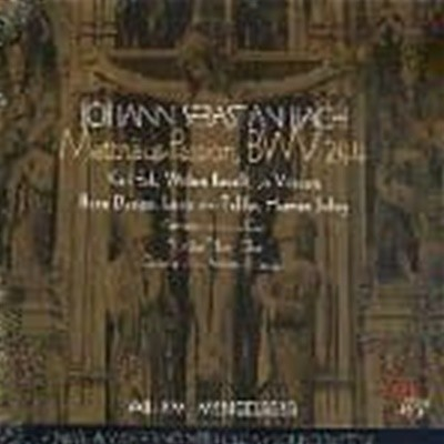 Willem Mengelberg / 바흐 : 마태 수난곡 (3CD/GI2048)