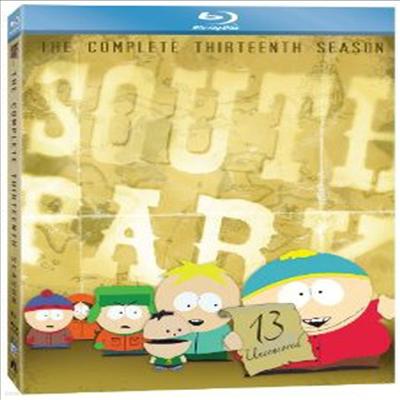 South Park: The Complete Thirteenth Season (사우스파크) (한글무자막)(2Blu-ray) (2010)