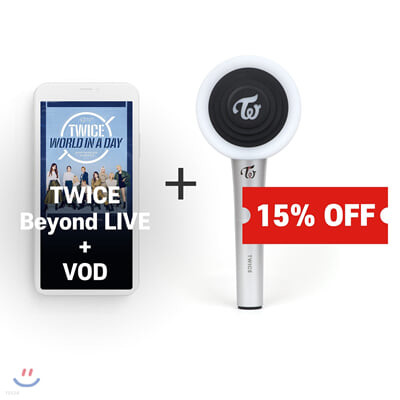TWICE Beyond LIVE +VOD관람권 + CANDYBONG Z