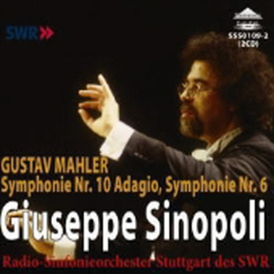 말러 : 교향곡 6번, 10번의 아다지오 (Mahler : Symphonies No.6 'Tragic', No.10 'Adagio') (2CD) - Giuseppe Sinopoli