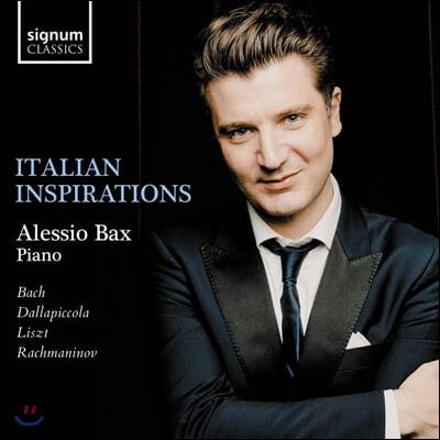 Alessio Bax 이탈리아 작품 피아노 소품집 (Italian Inspirations)