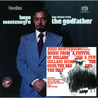 Hugo Montenegro - Love Theme from The Godfather & Music from A Fistful of Dollars, For a Few Dollars More, The Good, the Bad and the Ugly (Original Analog Remastered) (SACD Hybrid)