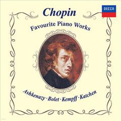 쇼팽: 유명 피아노 작품집 (Chopin: Favorite Works For Piano) (일본반) - Wilhelm Kempff