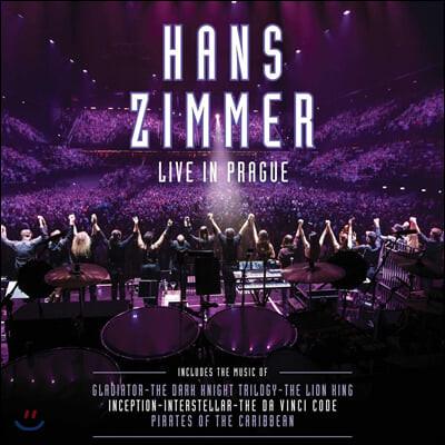 Hans Zimmer - Live In Prague 한스 짐머 프라하 라이브 [퍼플 컬러 4LP]