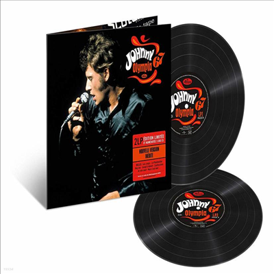 Johnny Hallyday - Olympia 1967 (Ltd. Ed)(2LP)