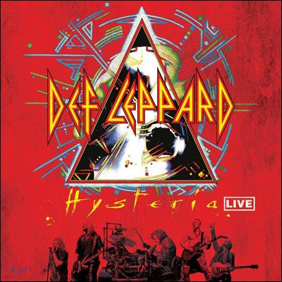 Def Leppard (데프 레퍼드) - Hysteria Live [투명 컬러 2LP]
