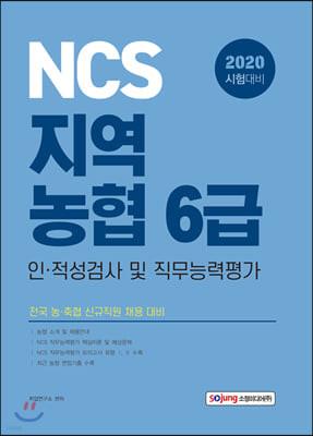 2020 NCS 지역농협 6급 인 적성검사 및 직무능력평가