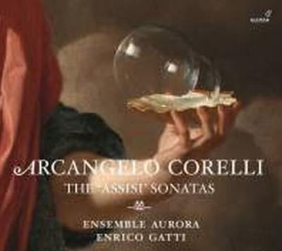 Ensemble Aurora, Enrico Gatti / 코렐리: 아시시 소나타 작품집(Digipack/수입/GCD921209)