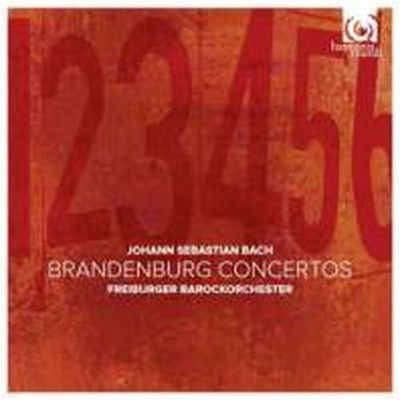 Freiburger Barockorchester / 바흐: 브란덴부르크 협주곡 1 - 6번(2CD/수입/HMC90217677)