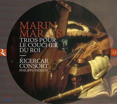 Ricercar Consort 마랭 마레: 소품과 트리오 모음곡 1-6번 (Marin Marais: Pieces en Trio 'Trios Pour Le Coucher Du Roi')