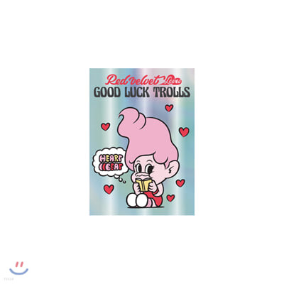 레드벨벳(Red Velvet Loves GOOD LUCK TROLLS) - HOLOGRAM POSTCARD_PINK
