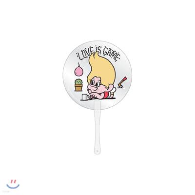 레드벨벳(Red Velvet Loves GOOD LUCK TROLLS) - CLEAR FAN_YELLOW