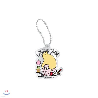 레드벨벳(Red Velvet Loves GOOD LUCK TROLLS) - ACRYLIC CHARM_YELLOW