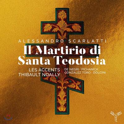 Thibault Noally 스카를라티: 성 테오도시아의 순교 (A. Scarlatti: Il Martirio di Santa Teodosia)
