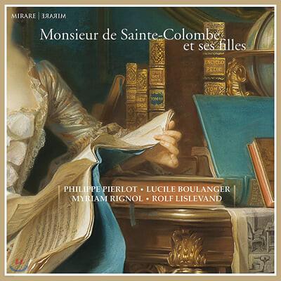 Philippe Pierlot 생트 콜릉브 / 비제: 비올 합주곡 (Monsieur de Sainte-Colombe et ses Filles)