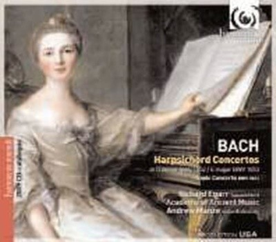 Andrew Manze / 바흐 : 하프시코드 협주곡 BWV1052, 1053 & 삼중 협주곡 BWV1044 (+카탈로그 포함/수입/HMX2907283)