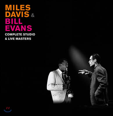 Miles Davis & Bill Evans (마일즈 데이비스 & 빌 에반스) - Complete Studio & Live Masters [컬러 5LP 박스세트]