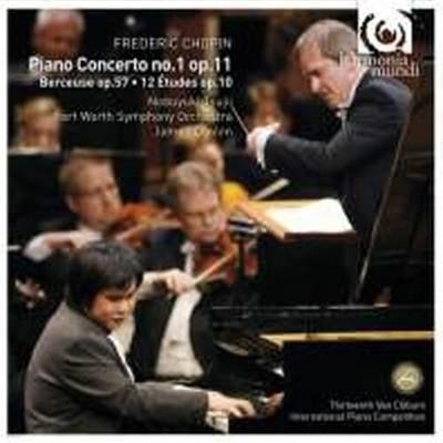 Nobuyuki Tsujii, James Conlon / 쇼팽 : 피아노 협주곡 1번, 자장가 & 연습곡  Op.10 (Digipack/수입/HMU907547