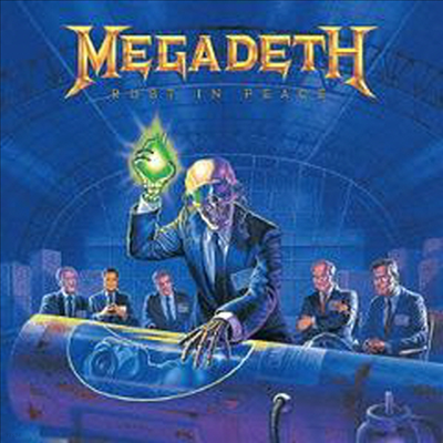 Megadeth - Rust In Peace (Remastered)(Bonus Tracks)(SHM-CD)(일본반)