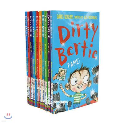 Dirty Bertie 꼬질이 버티 시리즈 3 챕터북 10종 세트  ....  ★ 새상품입니다(음원 1개)  / 시리즈 1~3 각각 판매중입니다 ★
