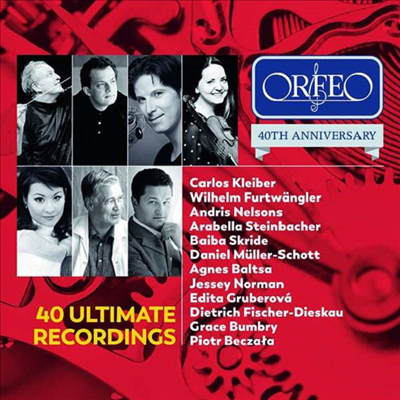 오르페오 40주년 에디션 (ORFEO 40th Anniversary Edition - 40 Ultimate Recordings) (2CD) - 여러 아티스트