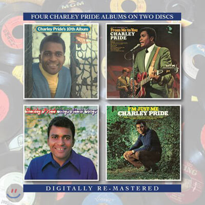 Charley Pride (찰리 프라이드) - Charley's 10th Album / From Me to You / Charley Sings Heart / I'm Just Me (Digitally Remastered)