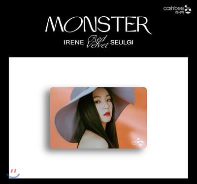 레드벨벳-아이린&슬기(Red Velvet - IRENE & SEULGI) - 캐시비 교통카드 (아이린 ver)