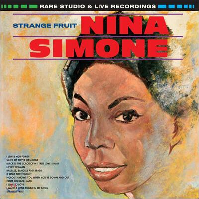 Nina Simone (니나 시몬) - Strange Fruit [오렌지 컬러 LP]