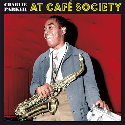 Charlie Parker (찰리 파커) - At Cafe Society [레드 컬러 LP]